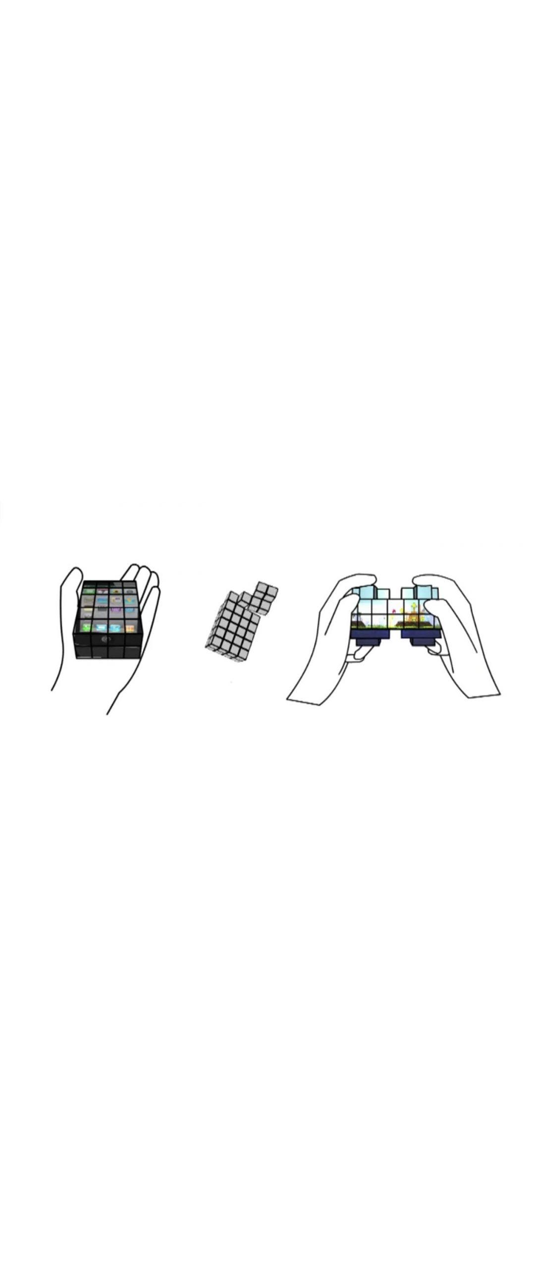 Cubimorph: Cubos con pantallas t�ctiles que toman la forma que quieras