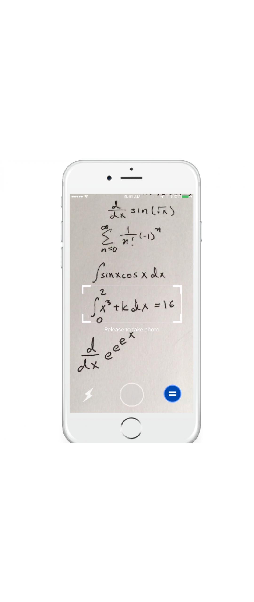 Mathpix te resolver� problemas matem�ticos si los apuntas con la c�mara de tu smartphone