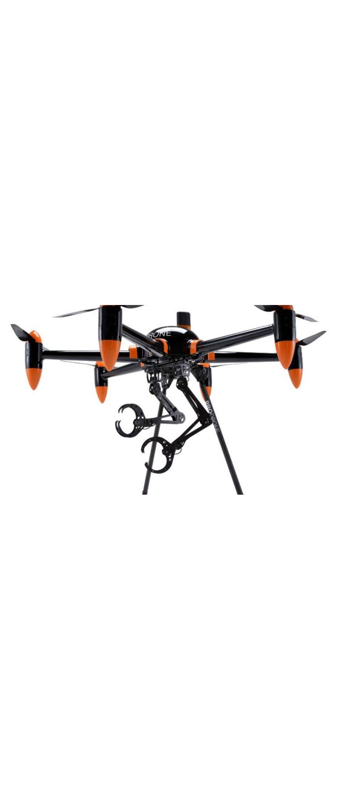 Japoneses crean dron volador con brazos que carga lo que sea
