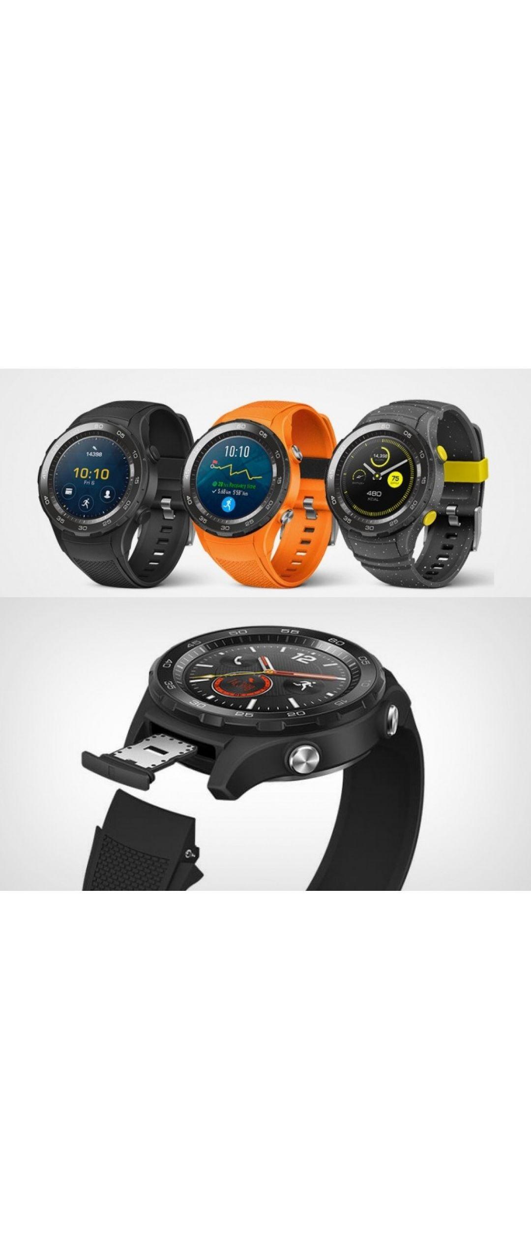 Conoce al Huawei Watch 2