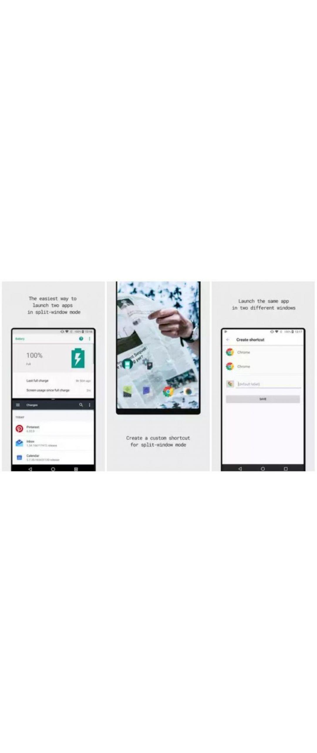 Split-Screen Creator te deja abrir dos apps en pantalla dividida en Android