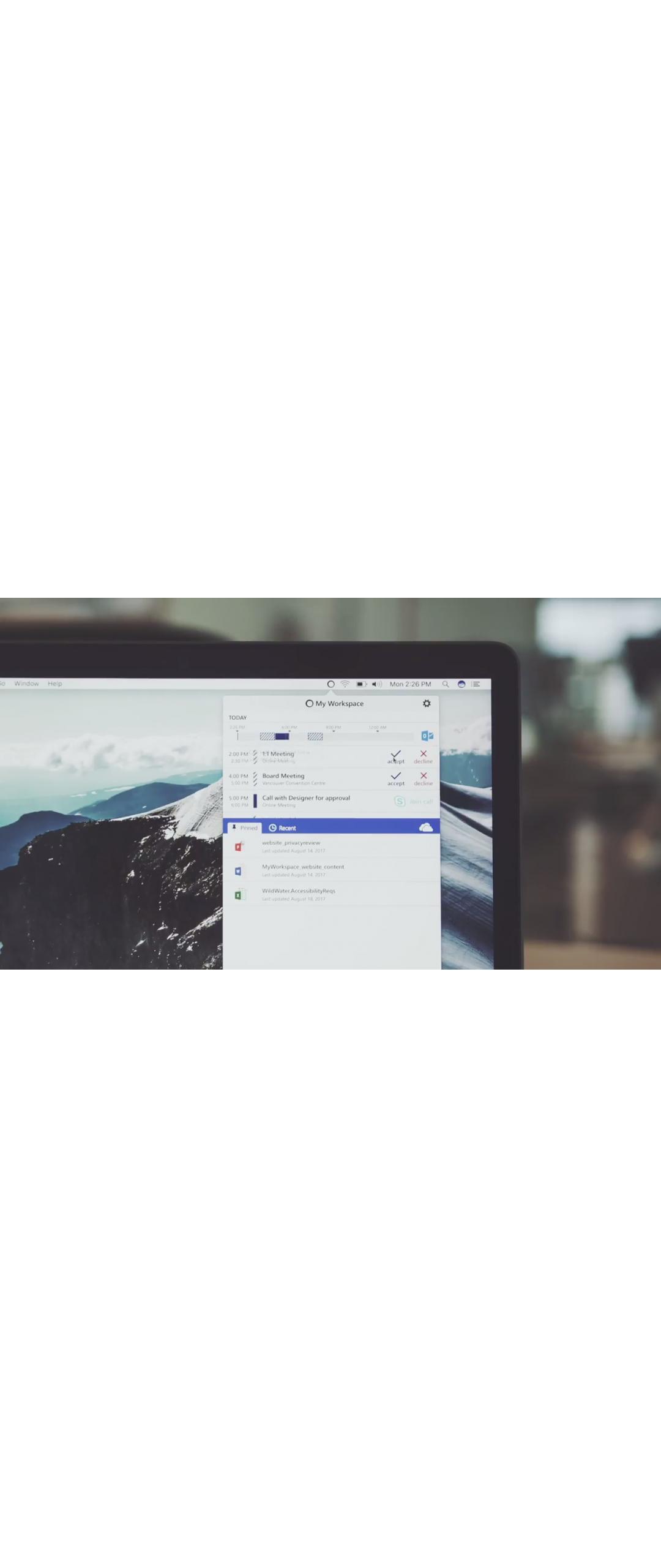 Microsoft Garage lanza aplicación de productividad para macOS