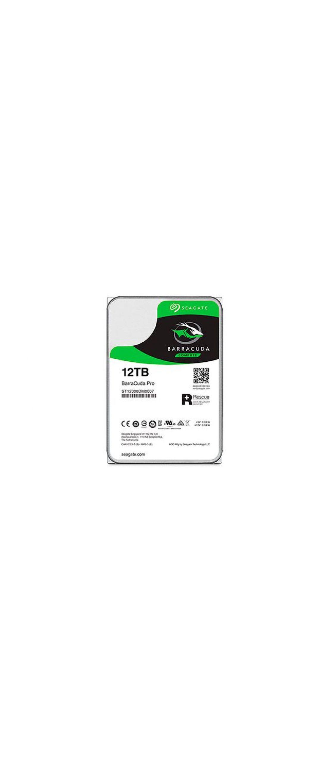 Seagate BarraCuda Pro es un nuevo disco duro de 12 TB