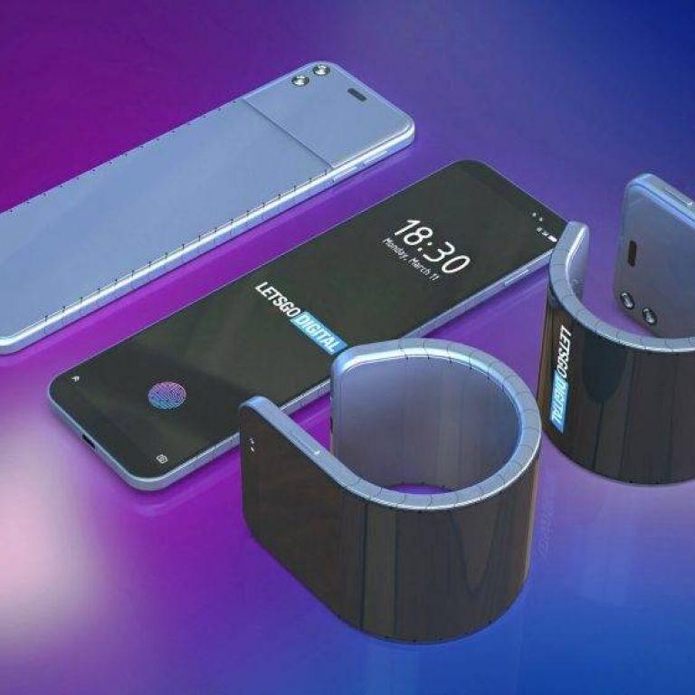 Samsung patenta un celular flexible que puedes usar como pulsera