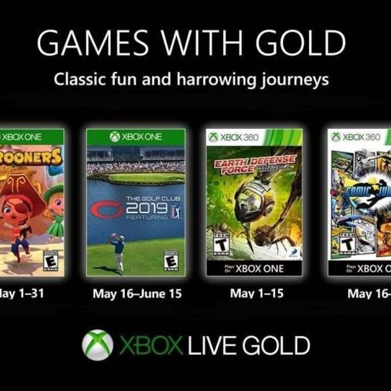 """Xbox: Estos son los juegos """"gratuitos"""" de Games with Gold para mayo de 2019"""