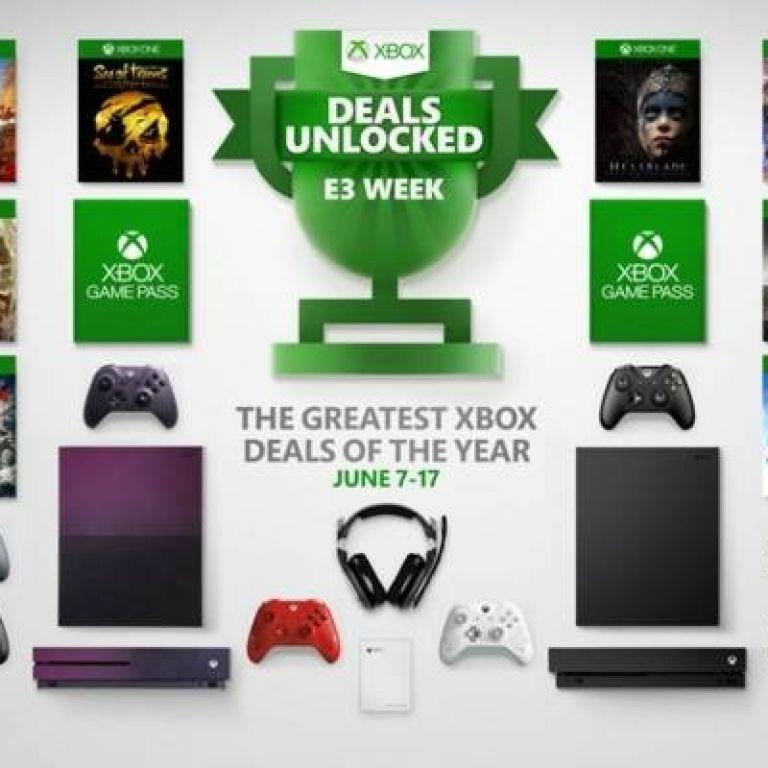 Xbox celebrará la semana de E3 2019 con grandes descuentos en consolas, juegos y accesorios