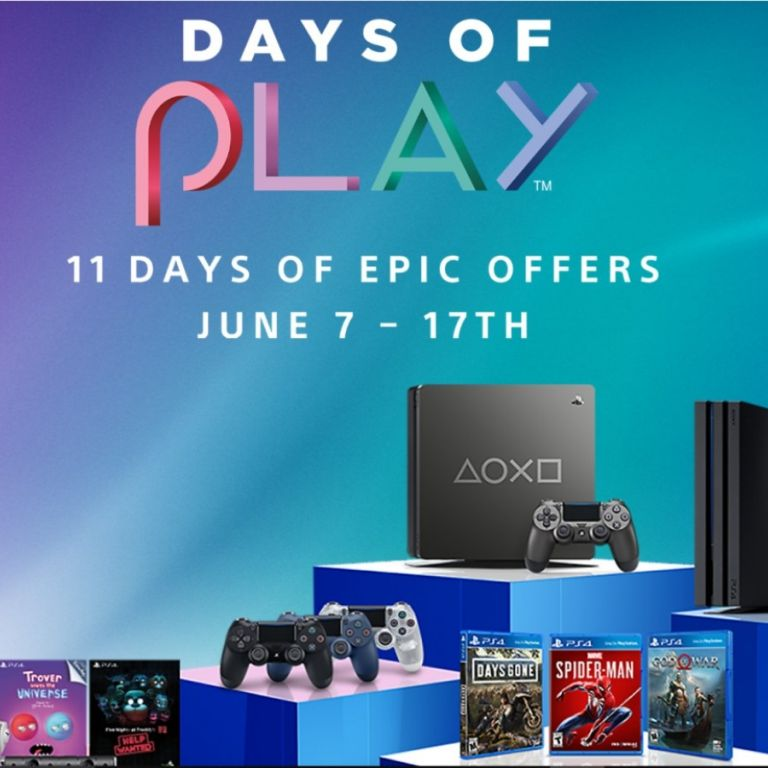 Days of Play: PlayStation tendrá 11 días de descuentos en juegos y consolas