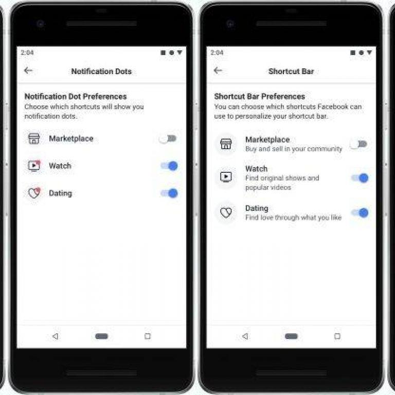 Facebook cambia su interfaz para eliminar notificaciones, Marketplace y más
