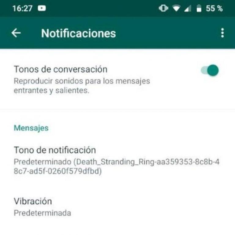 WhatsApp: cómo cambiar el tono de notificaciones y llamada