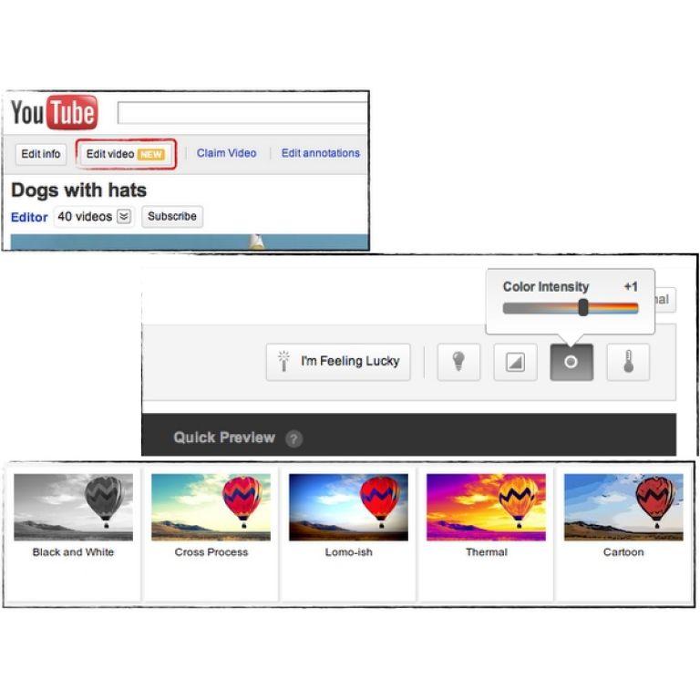 YouTube mejoró su servicio para editar videos