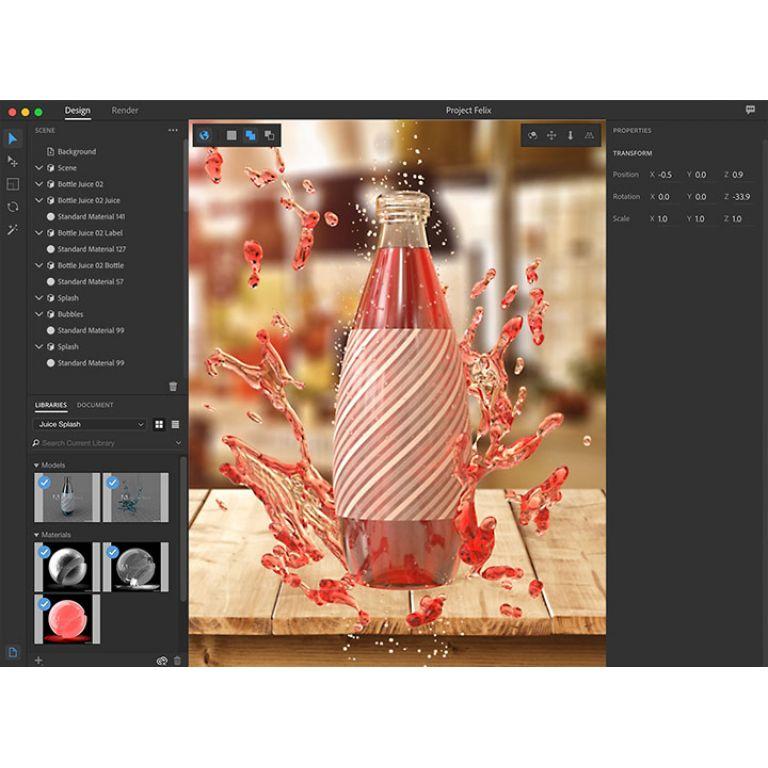 Adobe presenta Project Felix, su programa de modelado en 3D