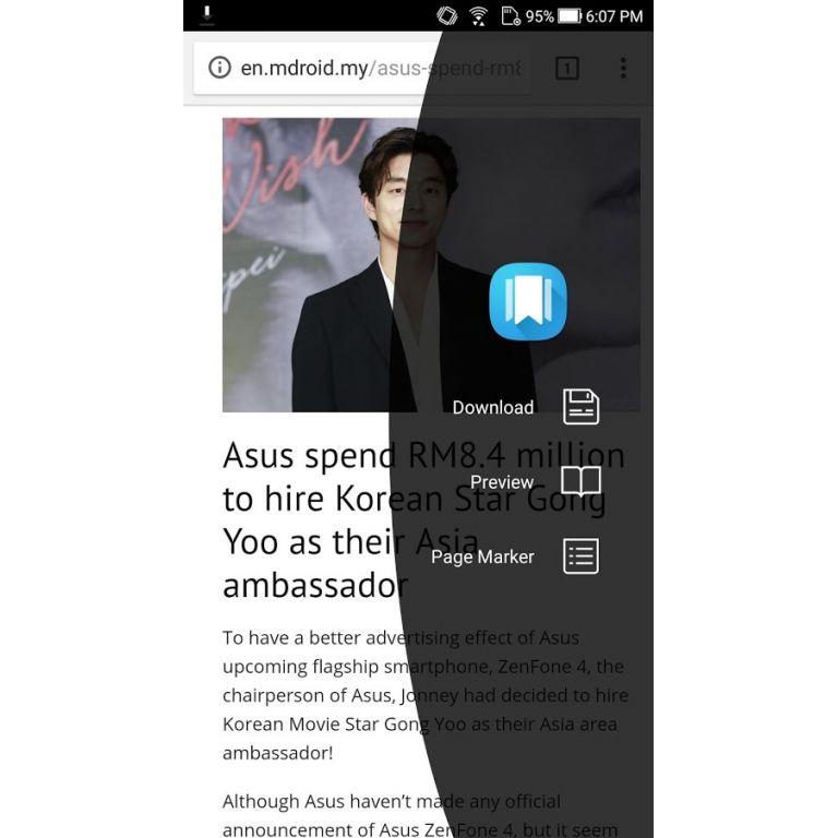 ASUS lanza aplicación para guardar artículos al estilo Pocket