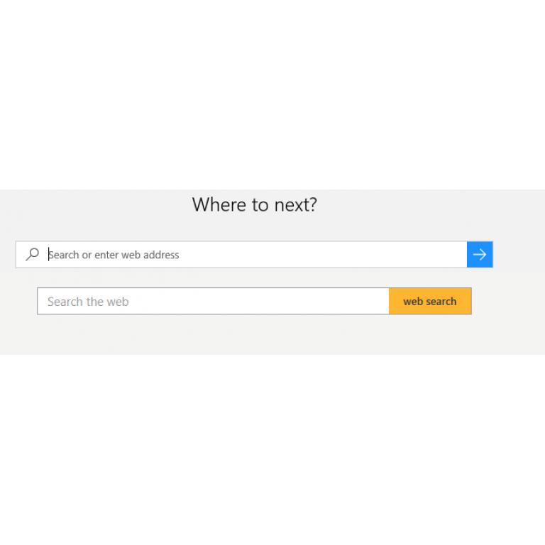 Bug en Microsoft Edge muestra dos barras de búsqueda