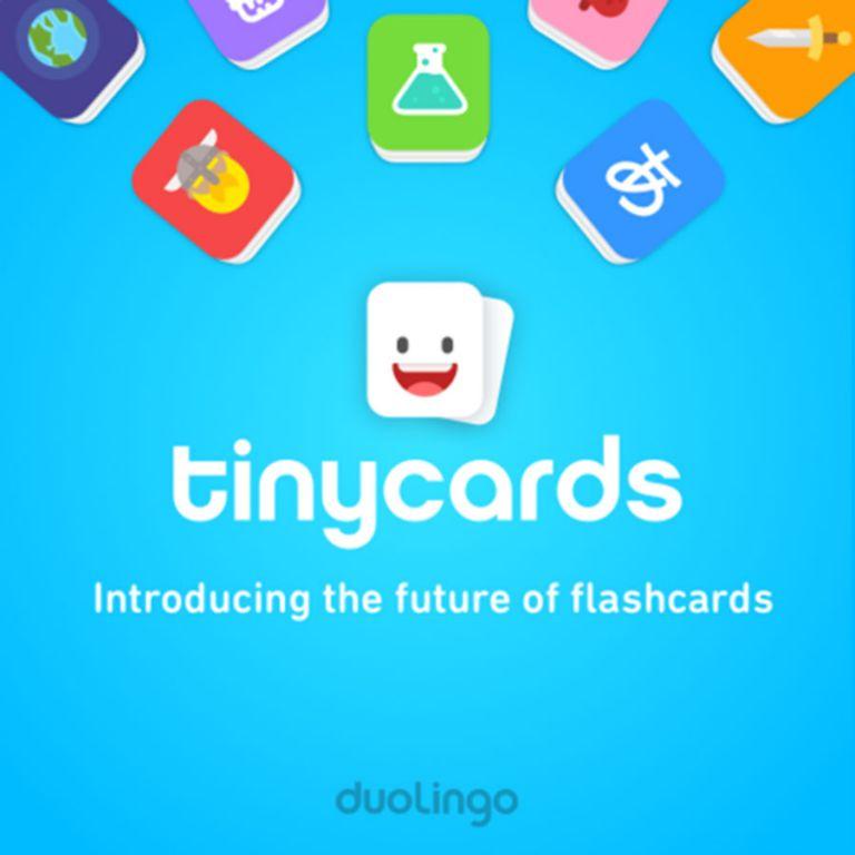 Duolingo lanza su aplicación Tinycards en español