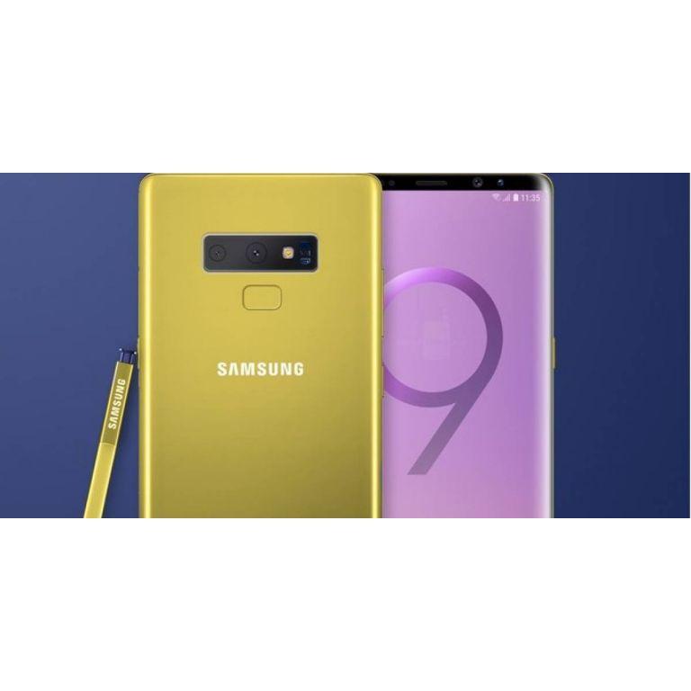 Así se vería el Galaxy Note 9 en su nuevo color amarillo