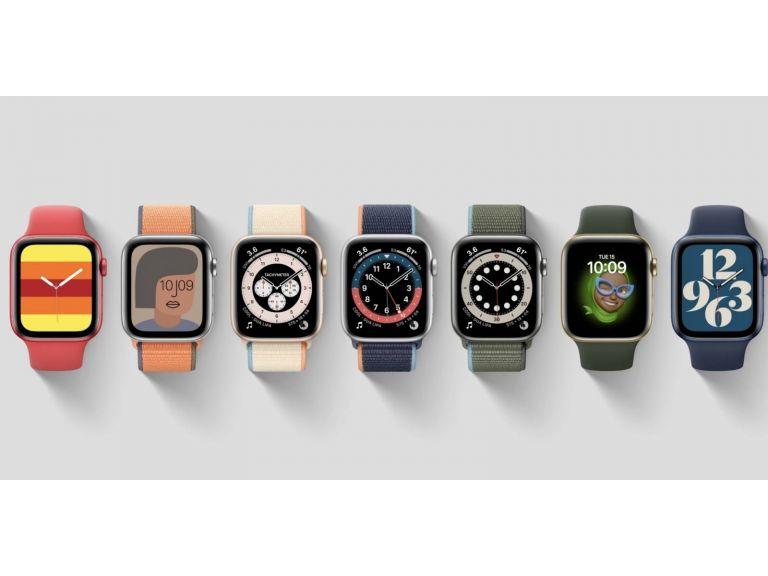 Este es el Apple Watch Series 6, con medición de oxígeno en la sangre y el económico Apple Watch SE #AppleEvent