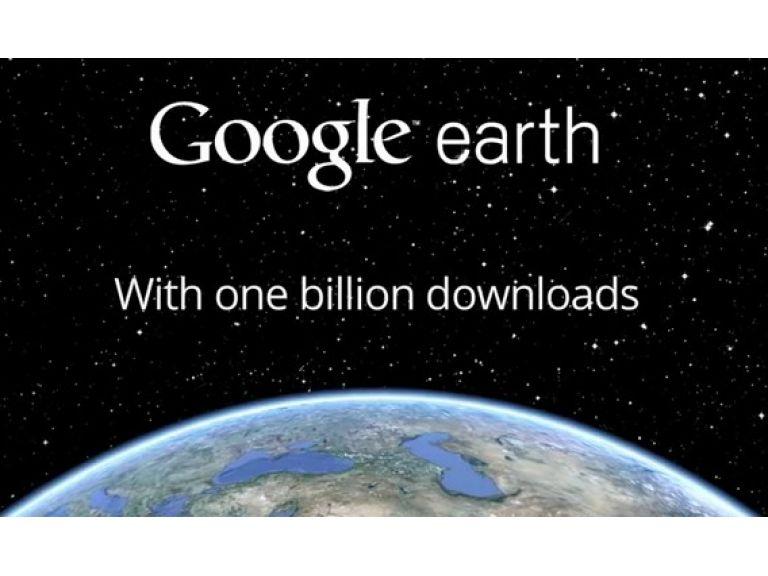 Google Earth supera las mil millones de descargas