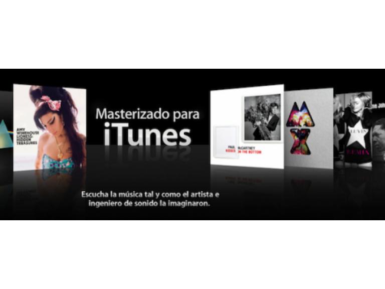 """Para los amantes de la alta fidelidad Apple presenta """"Masterizado para iTunes""""."""