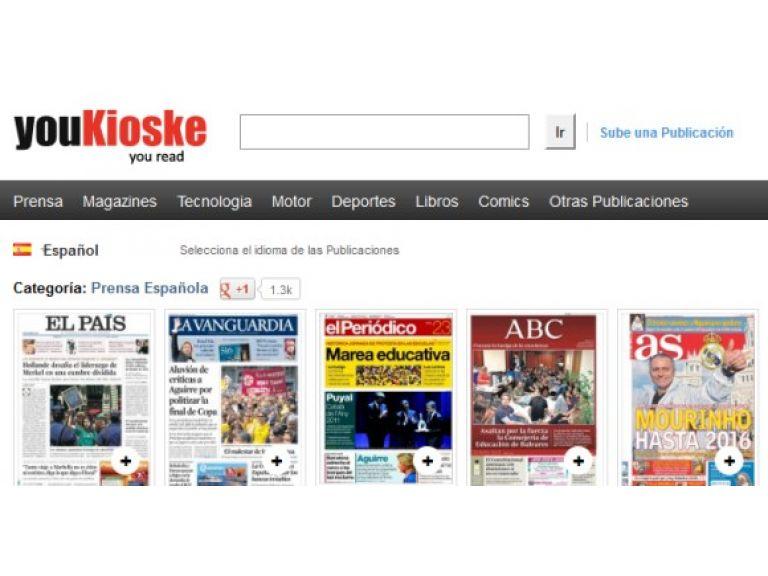 Cierran un sitio web por piratear diarios y revistas de todo el mundo.