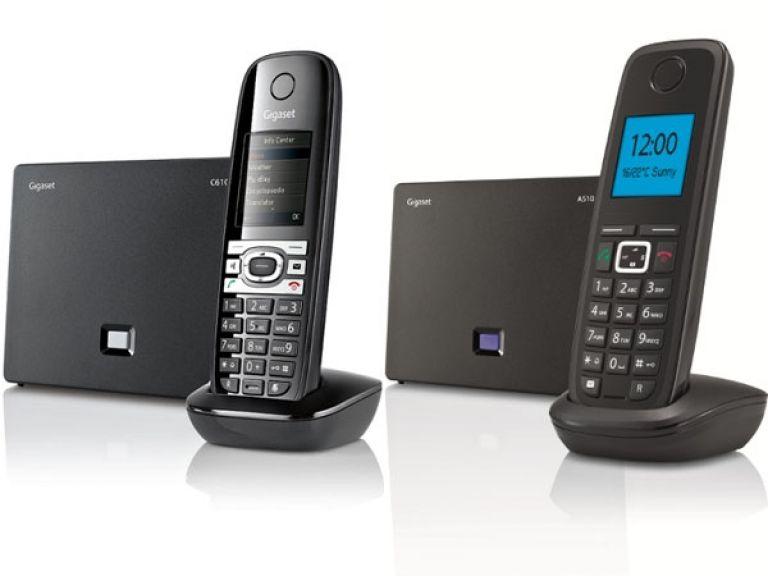 Gigaset lanzó teléfonos inalámbricos con modo IP
