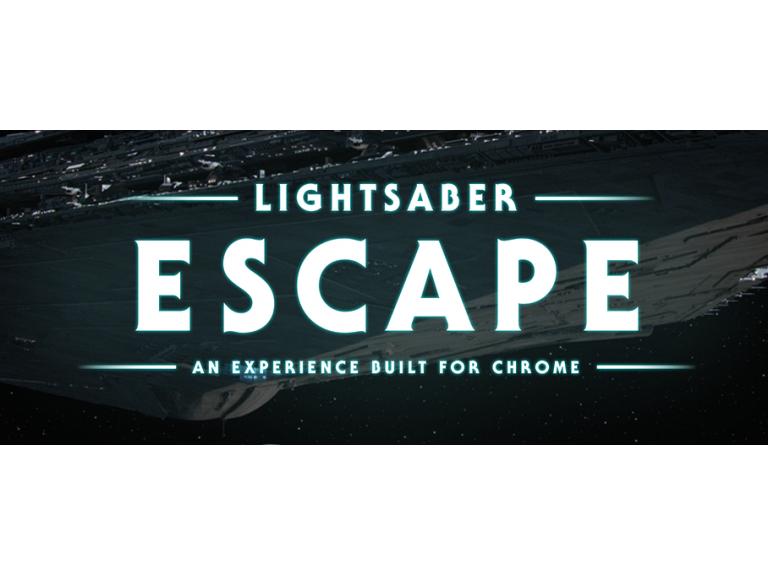 Chrome convierte tu smartphone en un Lightsaber de Star Wars