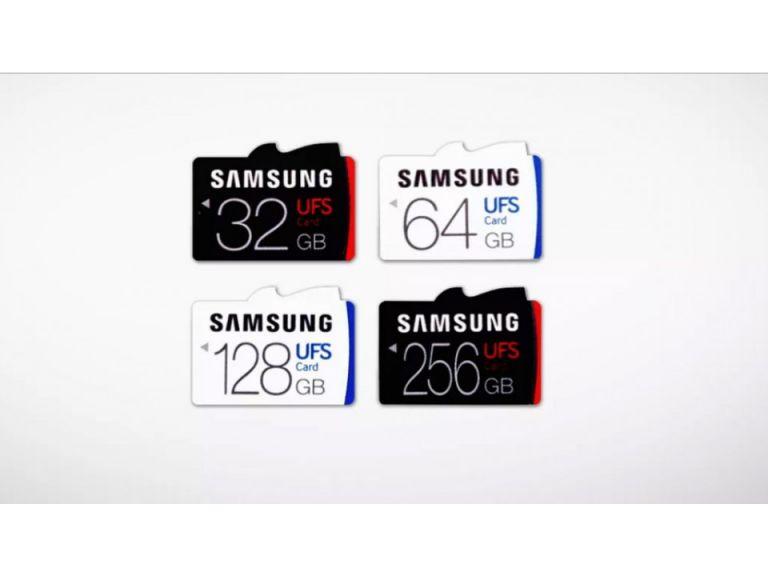 No más microSD: Samsung presenta al mundo sus primeras memorias UFS