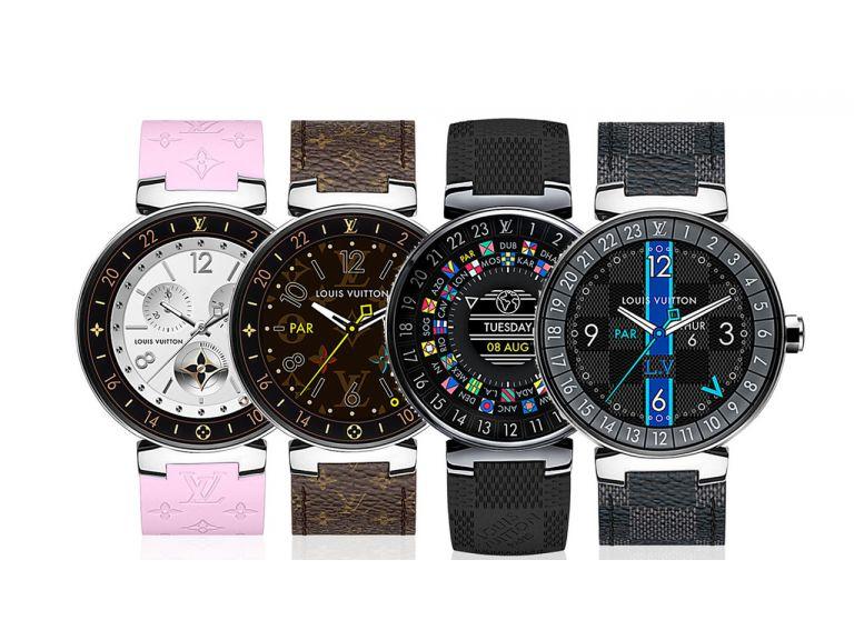 Louis Vuitton lanza un smartwatch Android que cuesta una fortuna