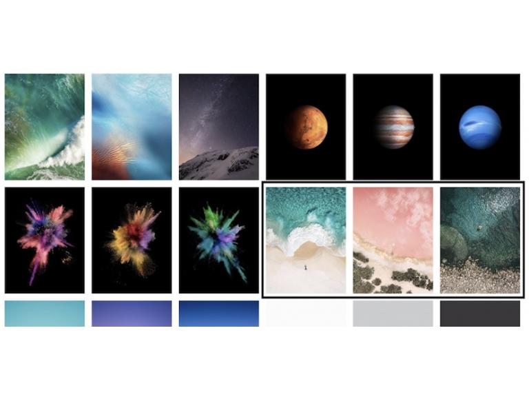 Galería: Todos los nuevos fondos de pantalla de iOS 11