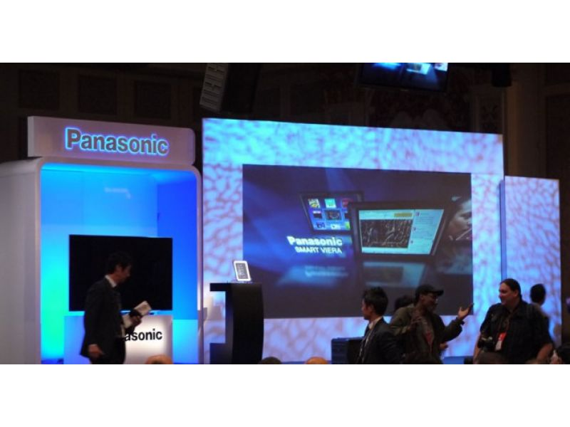 CES 2012: Panasonic 4K2K IPS Alpha Panel a primera vista.