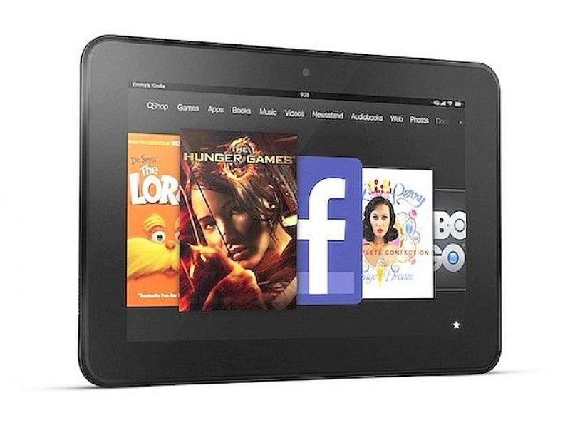 Amazon apuesta al Kindle Fire HD contra el iPad.