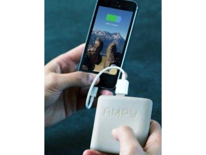 Un cargador que convierte el movimiento en energ�a para tu smartphone