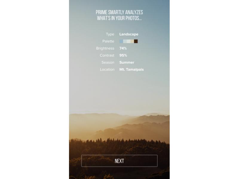 Priime, una app para iOS