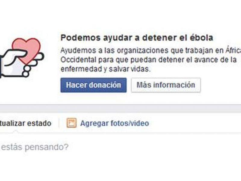Facebook sum� un bot�n para realizar donaciones