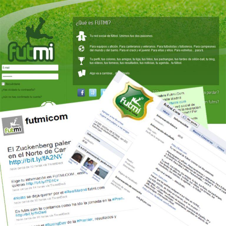 Nace Futmi: Otra red social de fútbol