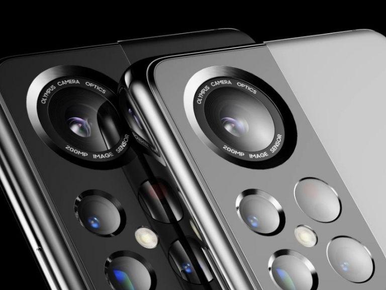 Samsung Galaxy S22 se muestra con cámara Olympus en brutal render