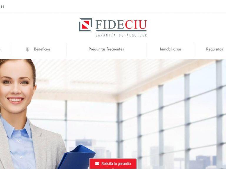 FIDECIU garantía inmobiliaria web - FIDECIU