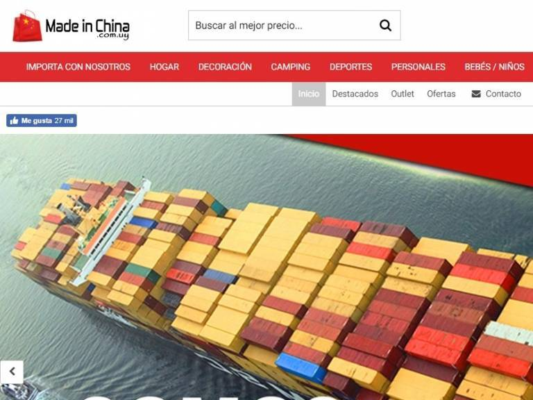 Desde China a Uruguay con el mejor precio - Made in China